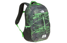 The North Face Happy Camper glo green distressed plaid